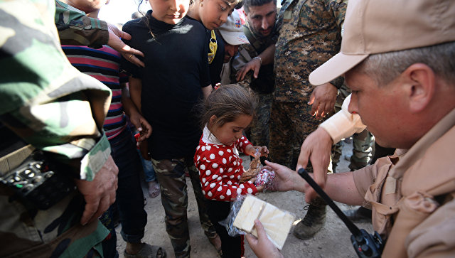 Жителям сирийского города Дума полностью раздали медикаменты из Франции