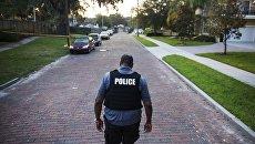Офицер полиции. Архивное фото