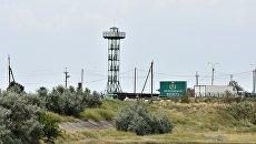 Пункт пропуска Джанкой на границе России и Украины. Архивное фото
