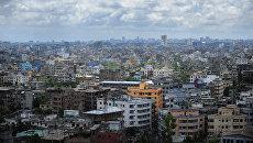 Панорама столицы Бангладеш города Дакка. Архивное фото
