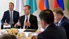 Дмитрий Медведев на заседании ЕАЭС в Сочи. 12 августа 2016