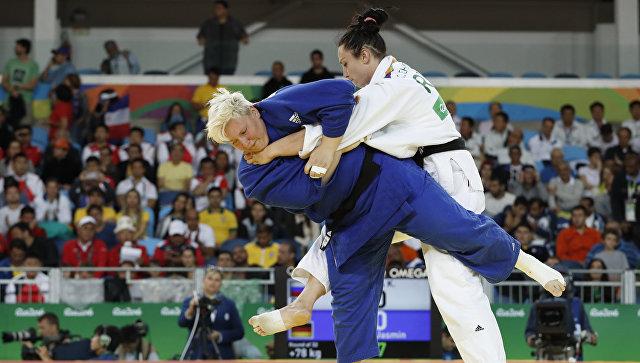 Пермская дзюдоистка Ксения Чибисова несмогла пройти вчетвертьфинал Олимпиады