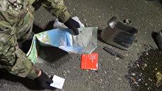 Допрос агента Юзефа и обыск машины крымских диверсантов. Оперативная съемка