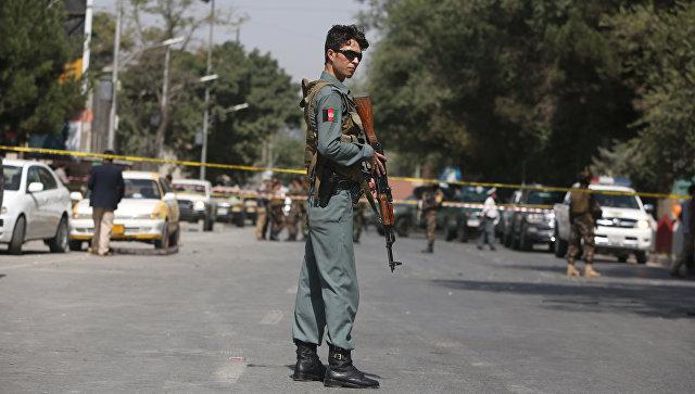 Взрыв вКабуле: кадры сместаЧП