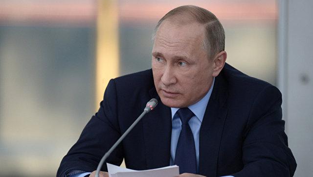 Путин заявил, что Россия не собирается сворачивать отношения с Украиной