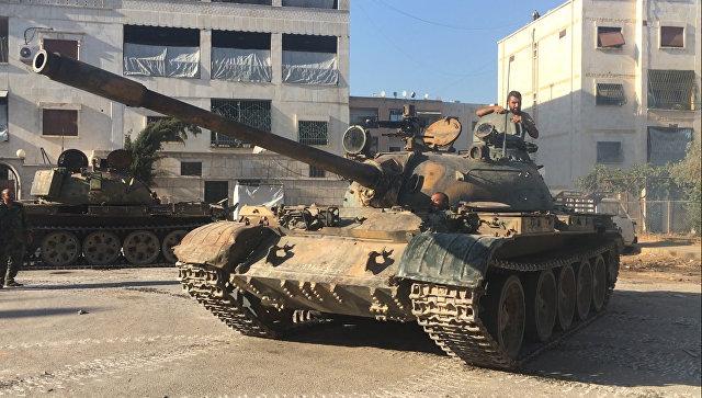 Танк сирийской армии. Архивное фото