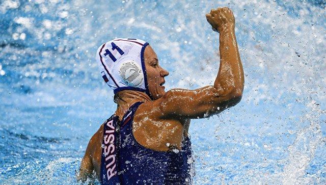 Олимпиада 2016. Водное поло. Женщины. Матч Россия - Испания