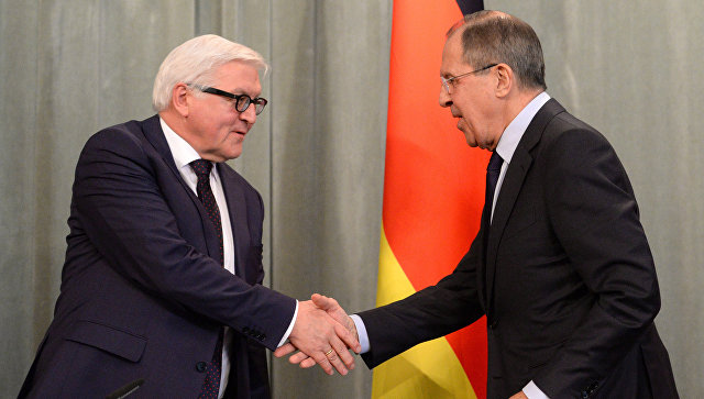Лавров иШтайнмайер обсудили проведение выборов в Государственную думу вУкраине