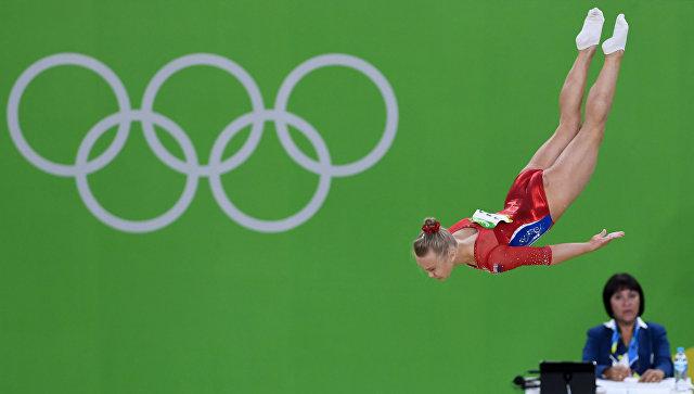 Ангелина Мельникова на XXXI летних Олимпийских играх. Архивное фото