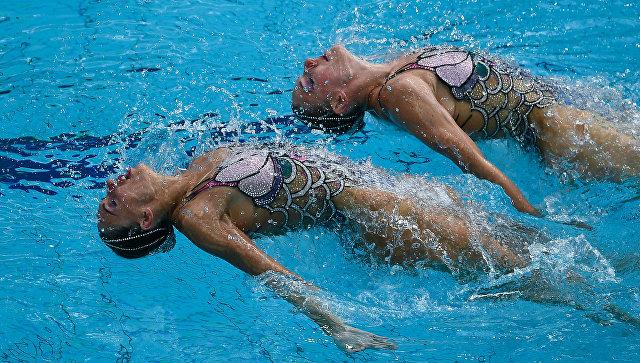 Русские синхронистки Ищенко иРомашина ― четырёхкратные олимпийские чемпионки