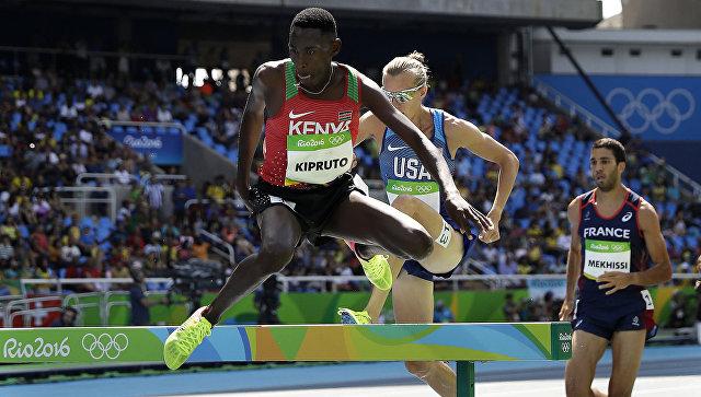 Кениец Кипруто завоевал золото Олимпиады-2016 встипль-чезе