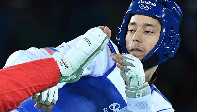 Житель россии Алексей Денисенко завоевал серебро втхэквондо наОлимпиаде вРио