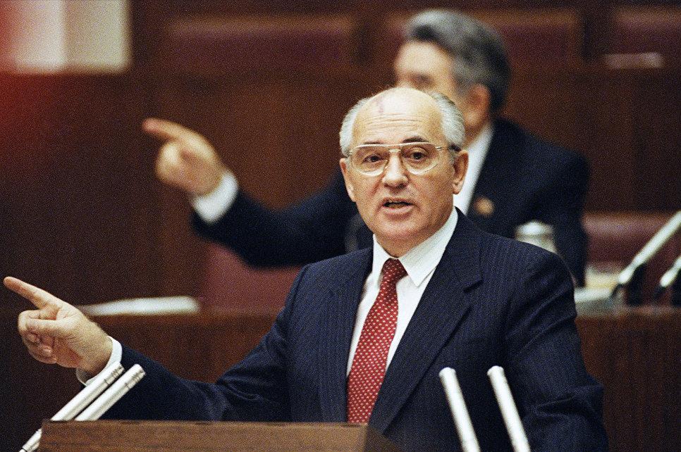 Президент СССР Михаил Горбачев
