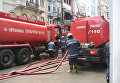 Пожарные на улицах Стамбула