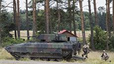 Немецкая боевая бронированная машина Puma. Архивное фото
