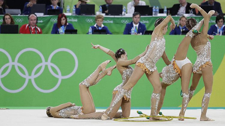примитивные масляные олимпиада 2016 художественная гимнастика групповое многоборье финал знаете
