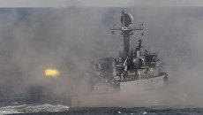 Военный корабль Южной Кореи. Архивное фото
