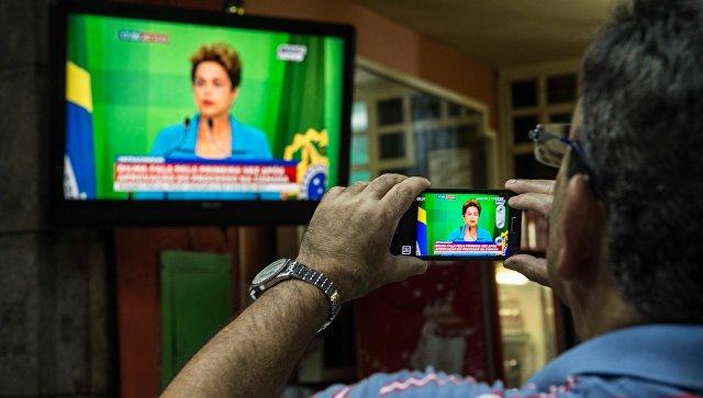 Русеф сообщила всенате Бразилии оневиновности, считает себя жертвой госпереворота