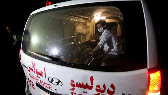 В Афганистане более десяти человек погибли при атаке террориста