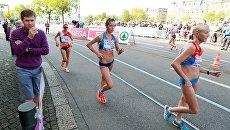 Тренер по спортивной ходьбе Виктор Чегин на чемпионате Европы по легкой атлетике в Цюрихе. Архивное фото
