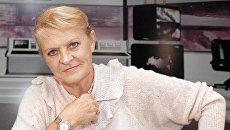 Советская спортсменка, комментатор РЕН ТВ Нина Еремина. Архив