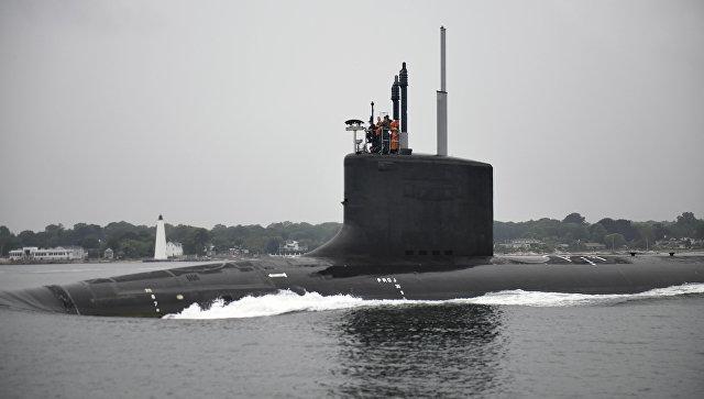 ВМС США получили новейшую атомную подводную лодку