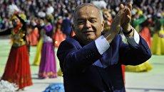 Президент Республики Узбекистан Ислам Каримов на празднике Навруз в Ташкенте