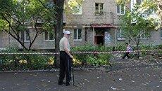 Последствия обстрела Донецка. 30 августа 2016