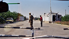 Граница между Таджикистаном и Узбекистаном. Архивное фото