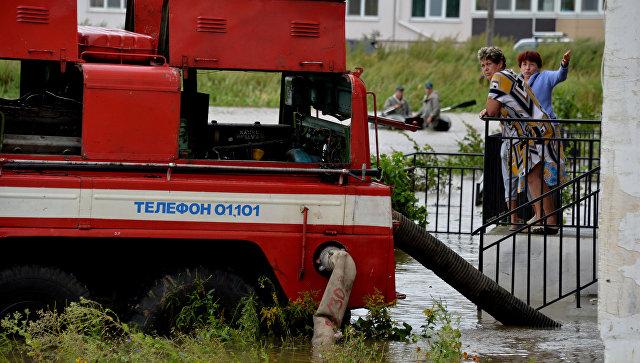 400 человек эвакуированы иззатопленных сел— Наводнение вПриморье