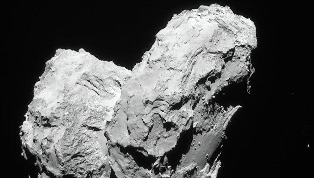 Фотография кометы Чурюмова-Герасименко, полученная Розеттой в августе 2014 года