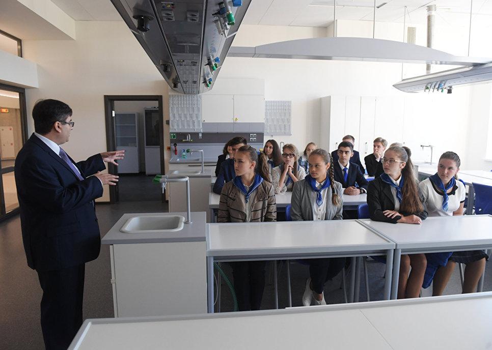 Университетская гимназия МГУ открылась в столице России