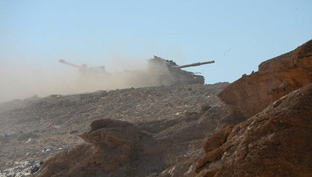 Боевики вновь вошли висторический город Пальмира вСирии