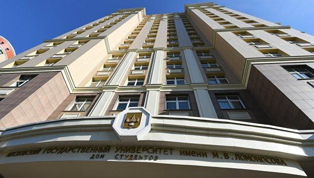 Натерритории кампуса МГУ расширят пешеходные зоны иустановят «лежачих полицейских»
