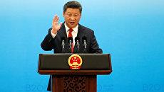 Председатель КНР Си Цзиньпин на G20
