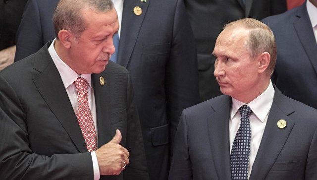 Эрдоган предложил Путину иОбаме установить бесполётную зону насевере Сирии