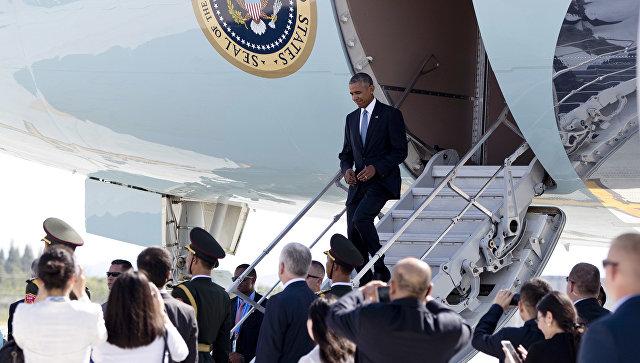 Президент США Барак Обама в аэропорту Ханчжоу. 3 сентября 2016
