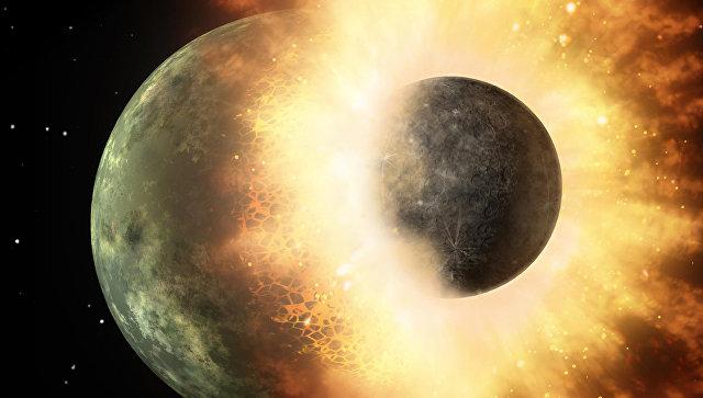 Всё живое наЗемле появилось извещества, занесённого с другой планеты