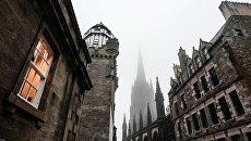 Вид на одну из улиц Эдинбурга