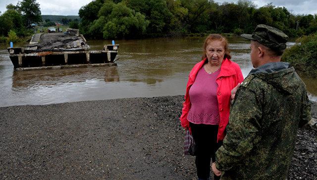 Руководитель МЧС оповестил Путину онапряженной ситуации вПриморье