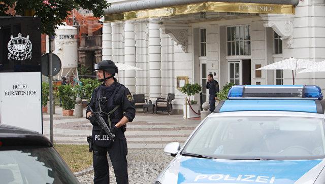 Милиция оцепила 5-звёздочный отель вЛейпциге из-за угрозы взрыва