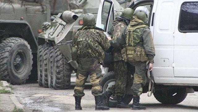 Контртеррористическая операция. Архивное фото