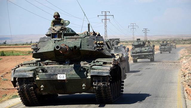 В Сирии идут бои между турецкой армией и курдами