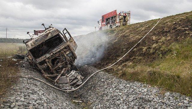 Семь человек погибли вДТП вЛенинградской области