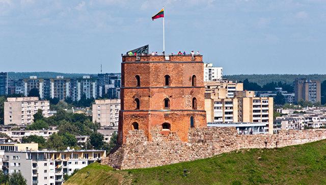 Башня в Вильнюсе. Архивное фото