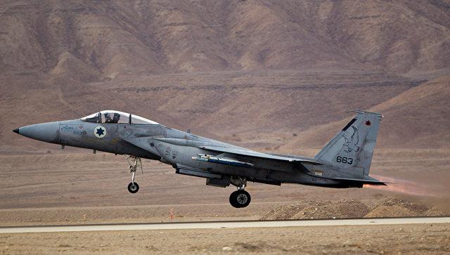 Израильские ВВС атаковали базу ИГ в Сирии