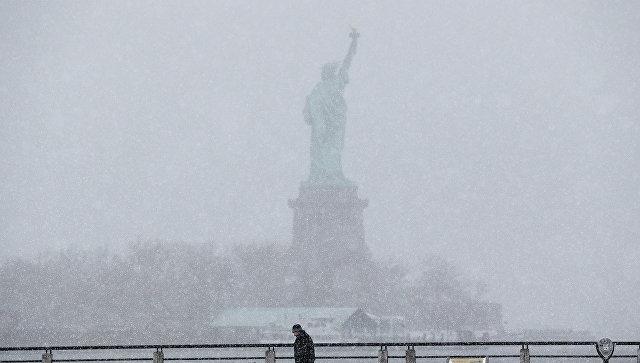 Вид на Статую Свободы, Нью-Йорк