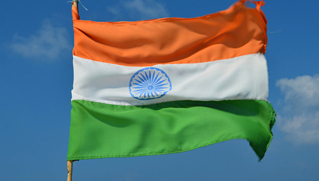 Национальный флаг Индии. Архивное фото