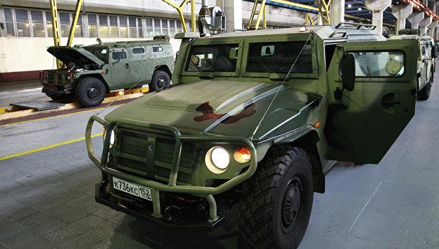 Sputnik: Российская Федерация приступает кпроведению тестирования нового «хищного» броневика-беспилотника «Тигр»