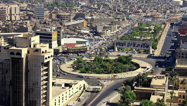 Вид с воздуха на Багдад, Ирак. Архивное фото